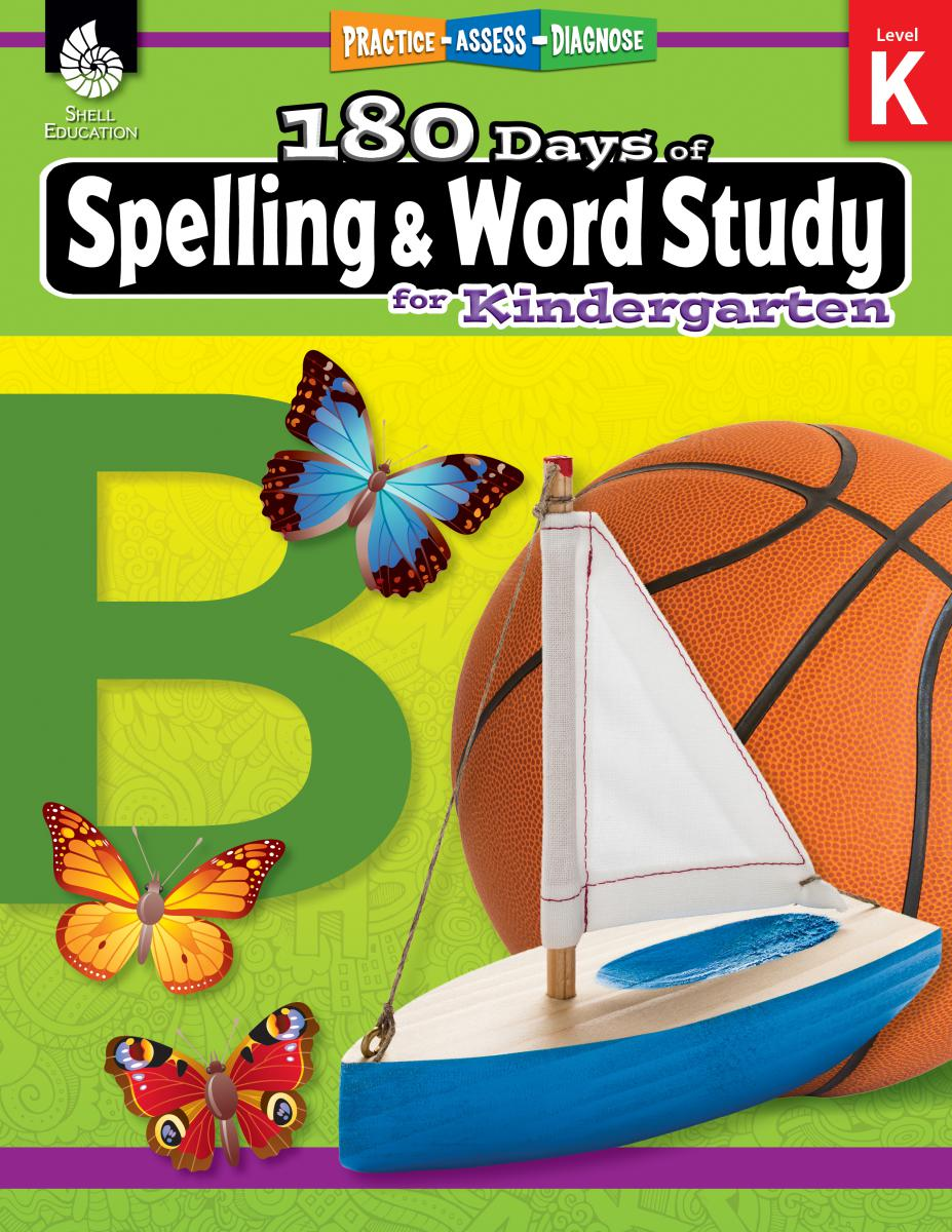 Practice, Assess, Diagnose: 180 Days of Spelling and Word Study for Kindergarten