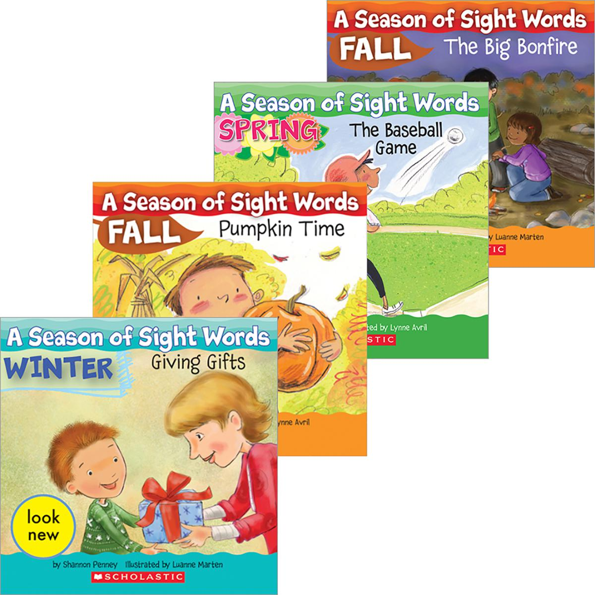 A Season of Sight Words: All Year Pack