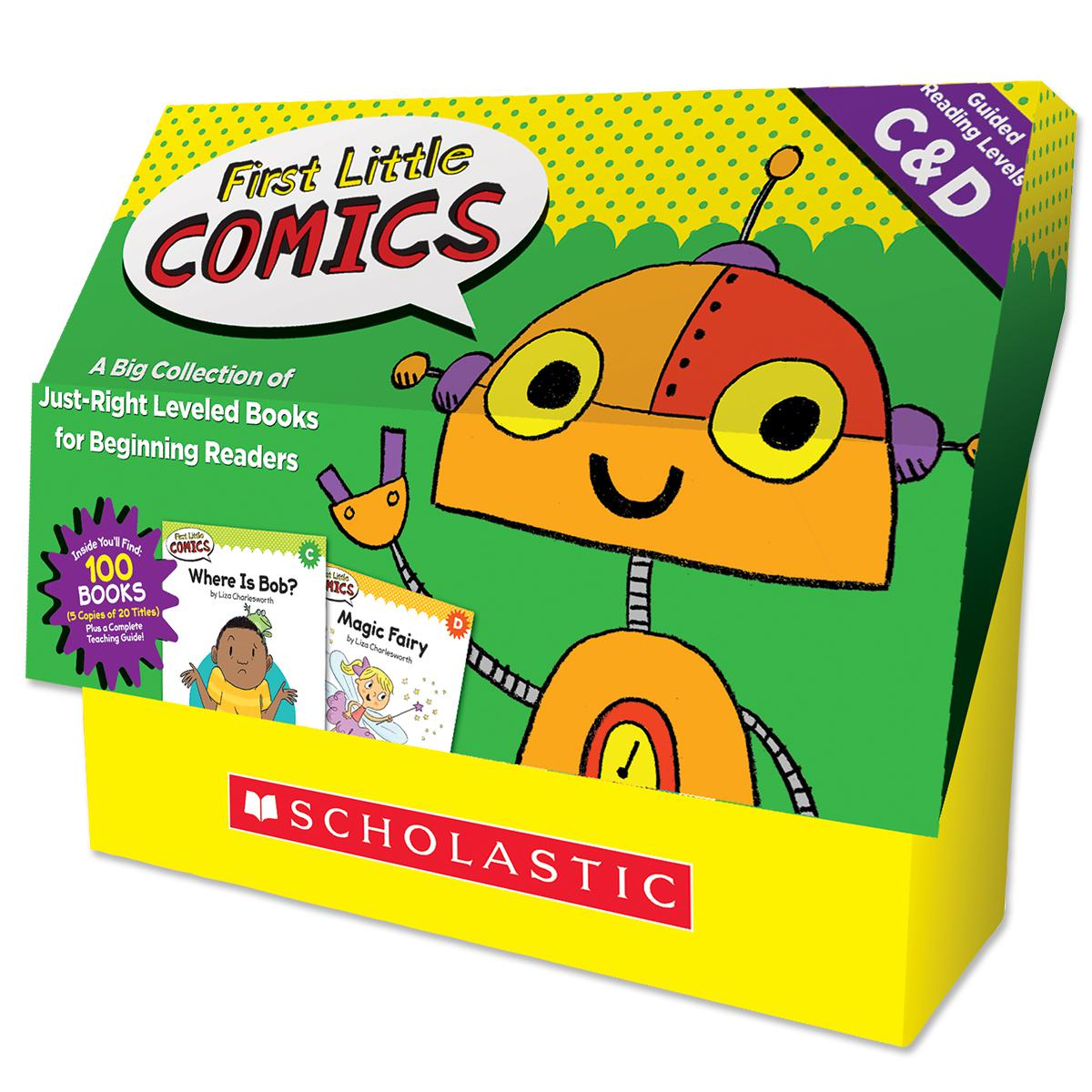 First Little Comics Classroom Set: Levels C & D