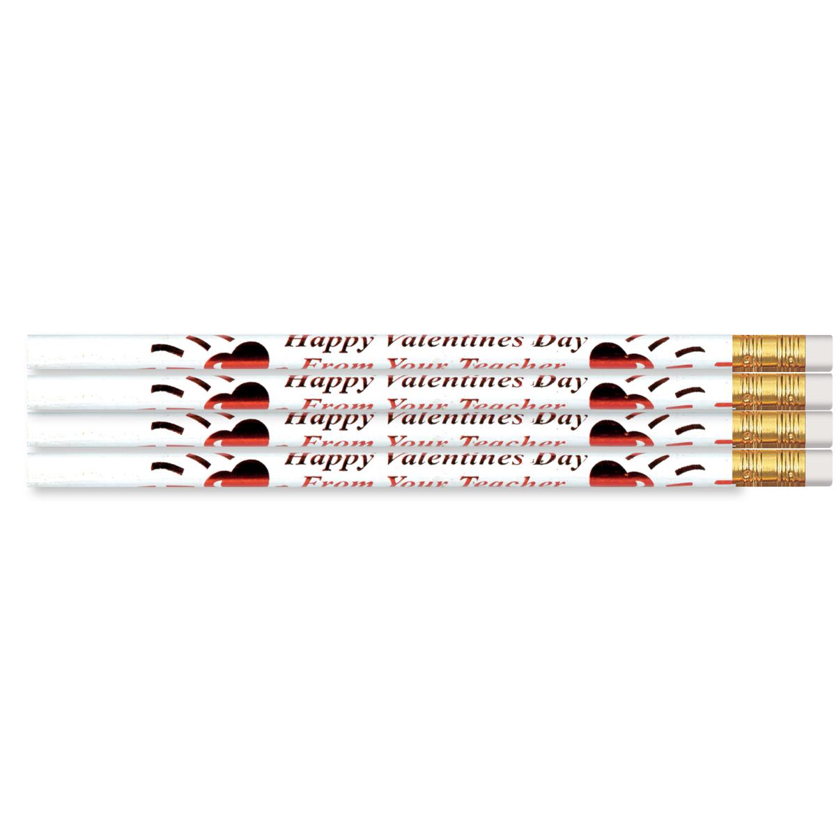 Happy Valentine's From Your Teacher Seasonal Pencils