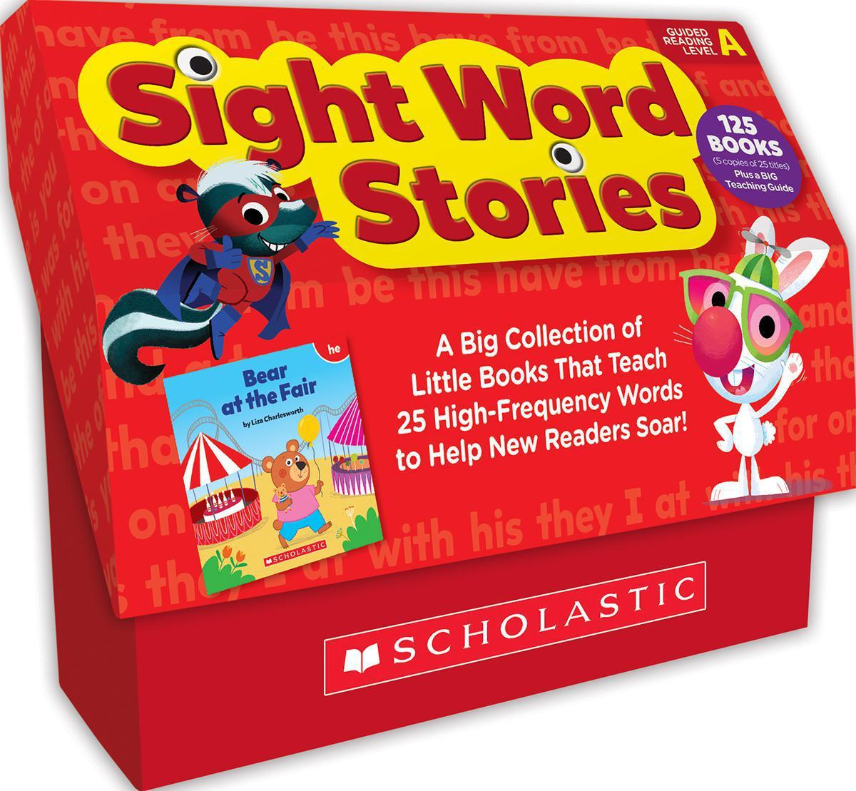 Sight Word Stories Classroom Set: Level A