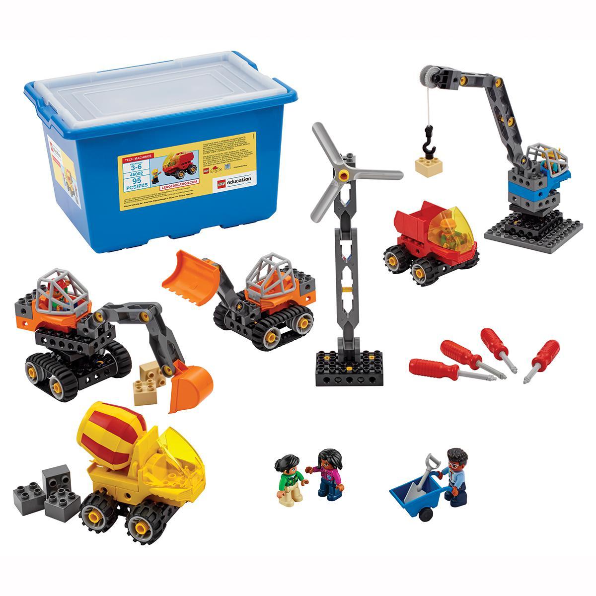 LEGO® Education:  Tech Machines Set With Storage