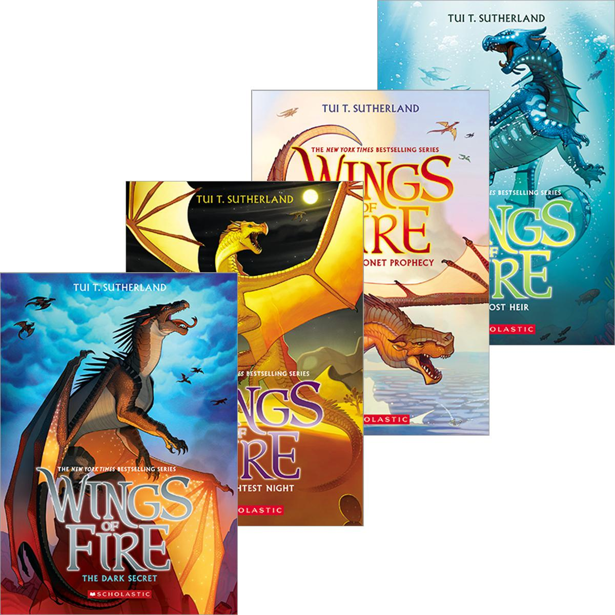 Wings of Fire #1 - #5 Pack