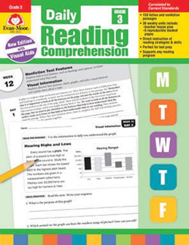 Daily Reading Comprehension: Grade 3