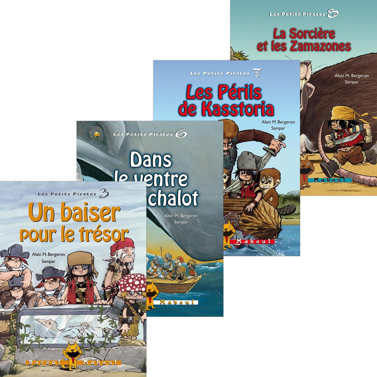 Collection Les Petits Pirates