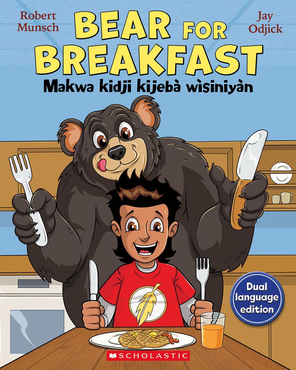 Bear for Breakfast/Makwa kidji kijebà wìsiniyàn Book & CD Set