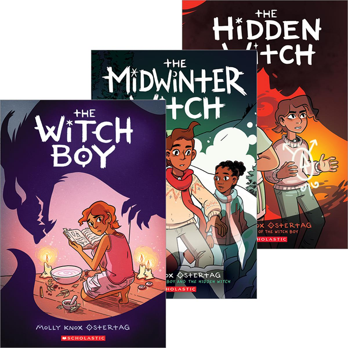 The Hidden Witch #1-#3 Pack