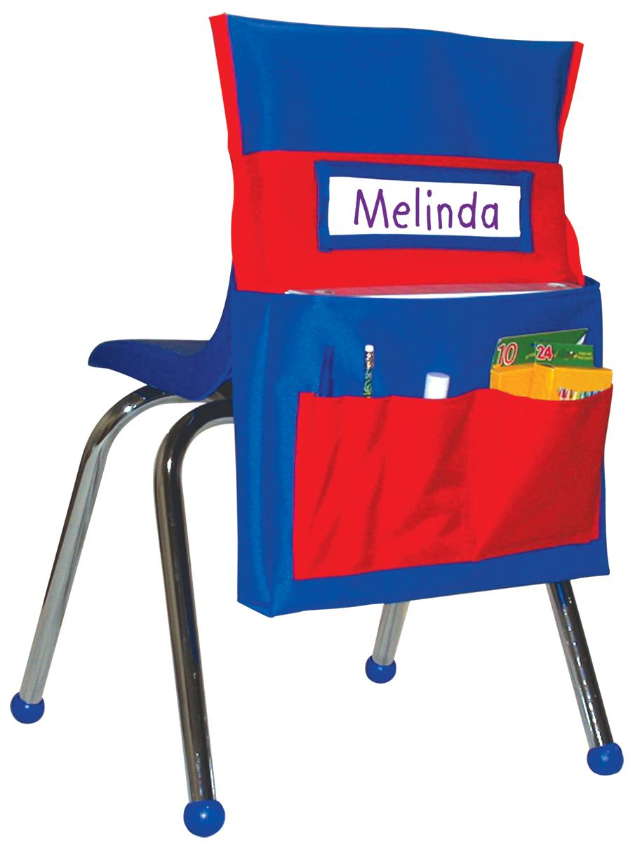 Chairback Buddy: Red & Blue