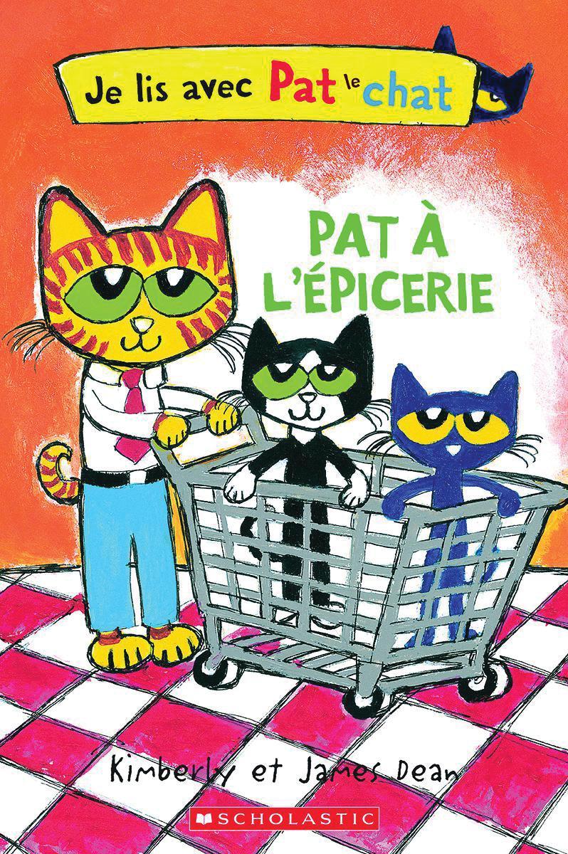Je lis avec Pat le chat :  Pat à l'épicerie