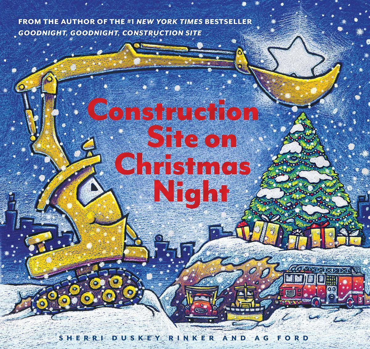 Construction Site on Christmas Night
