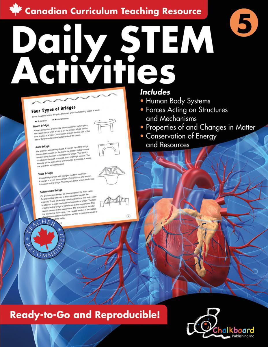 Canadian Daily STEM Activities Grade 5