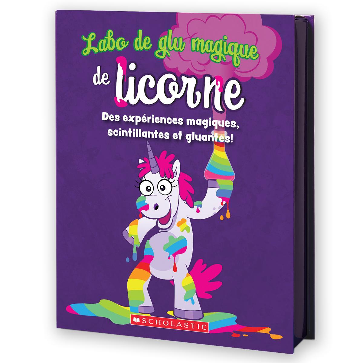 Labo de glu magique de licorne