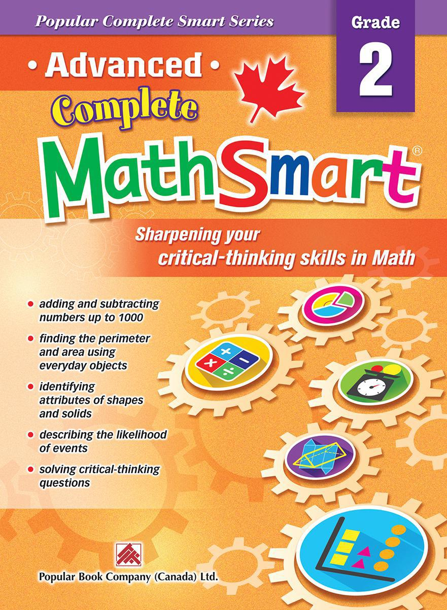 Advanced Complete MathSmart: Grade 2