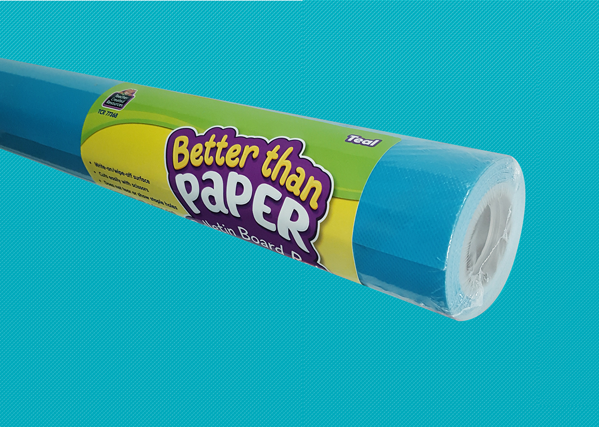 Teal Better Than Paper Roll
