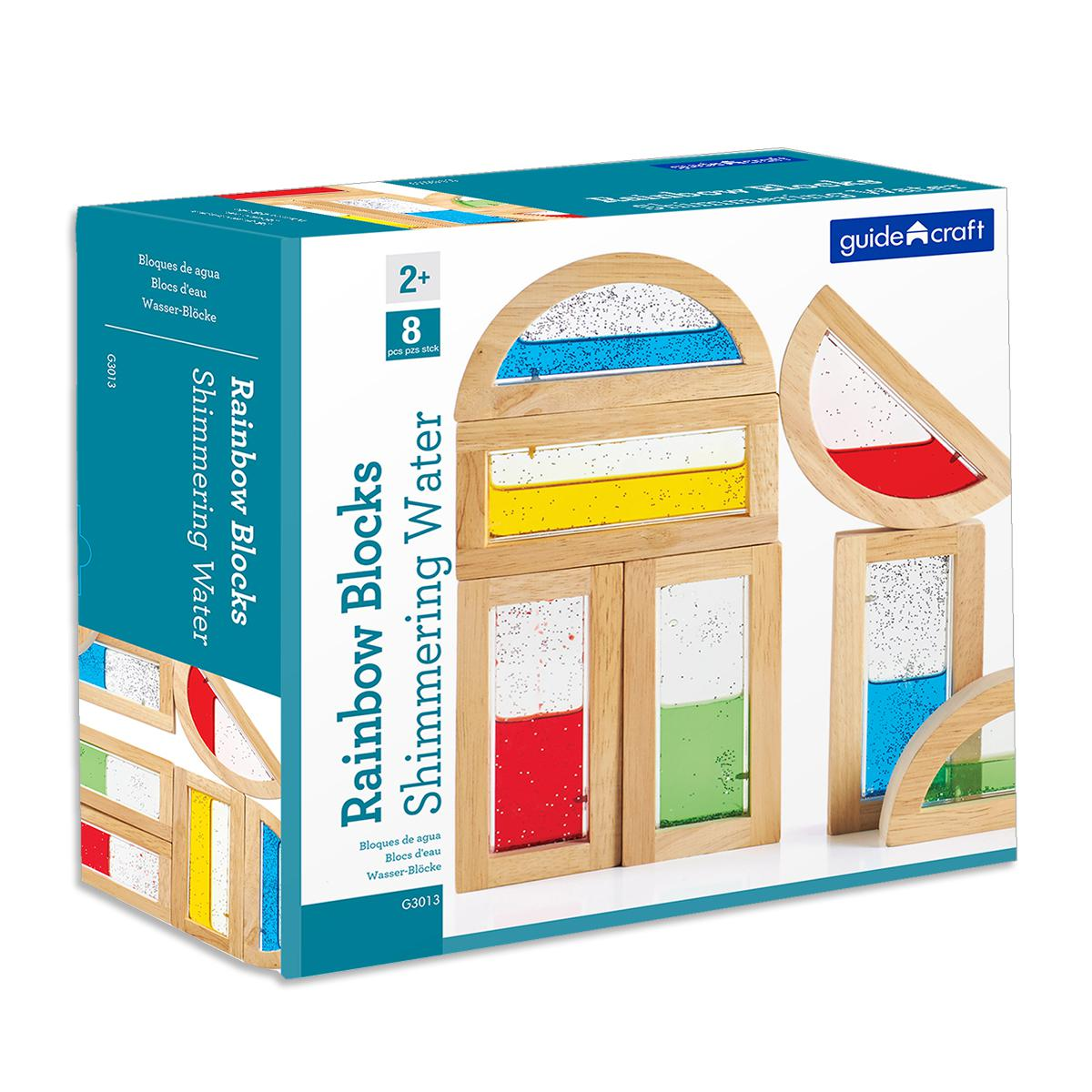 Blocs arc-en-ciel : Eau brillante Guidecraft