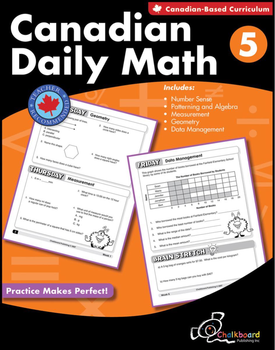 Canadian Daily Math Gr. 5