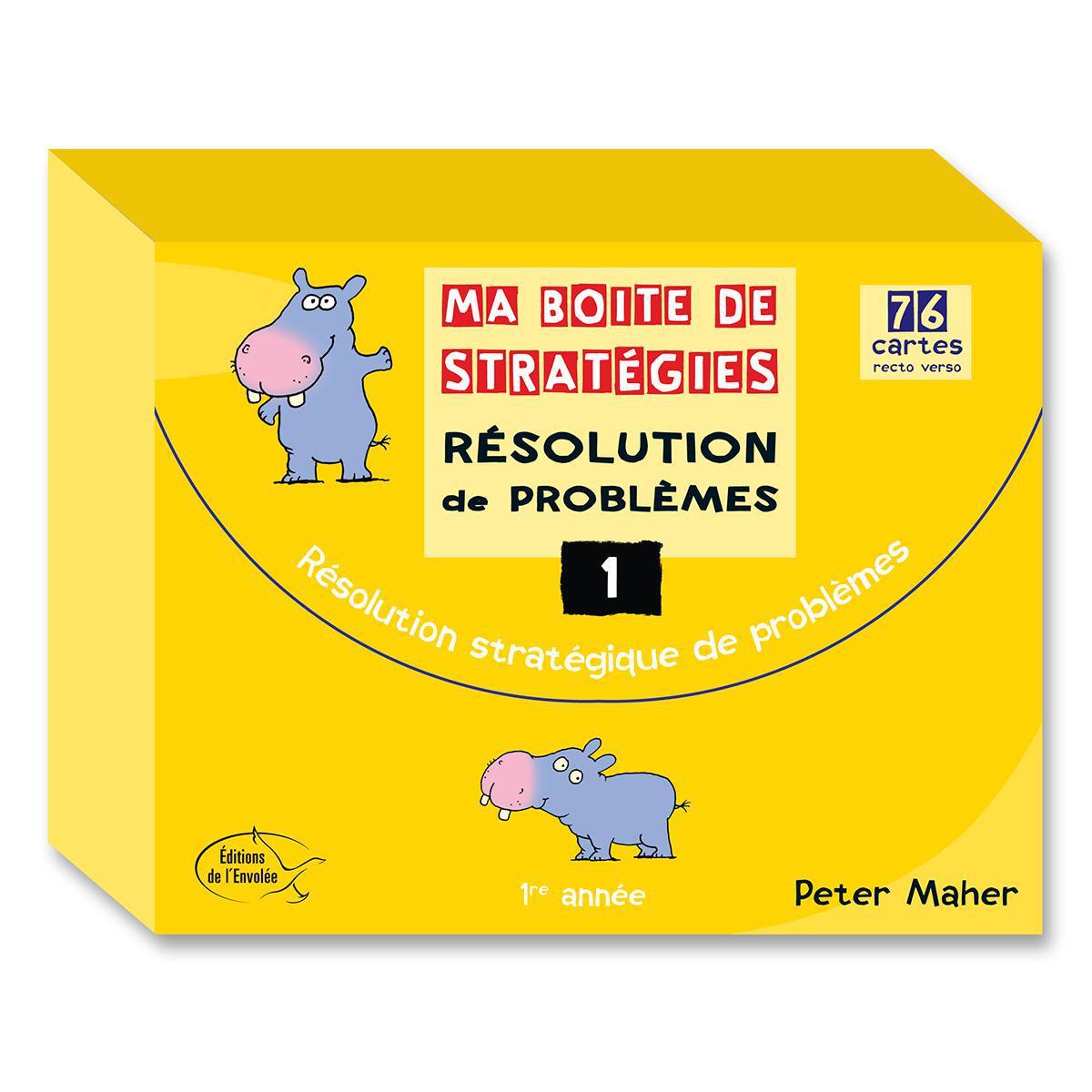 Ma boite de stratégies - Résolution de problèmes: 1re année
