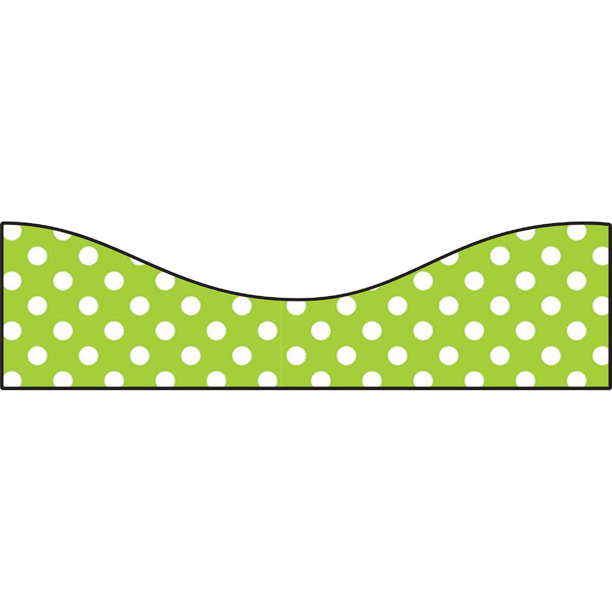 Lime Dots Magnetic Trimmer