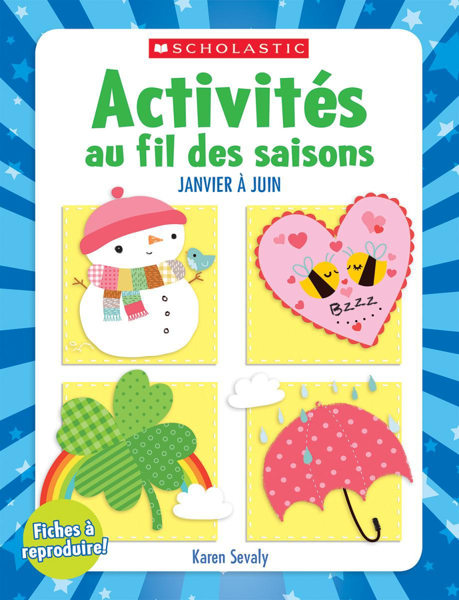 French Monthly Idea Books: January-June