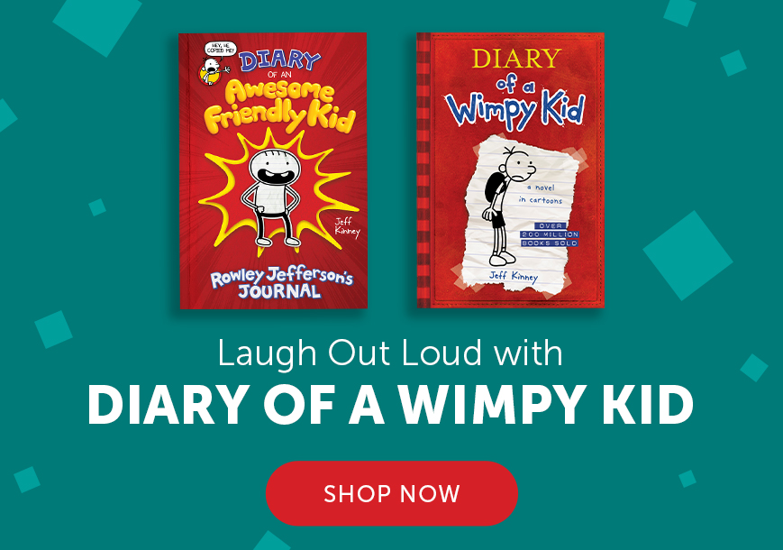 Laugh Out Loud with Diary of a Wimpy Kid. Shop Now