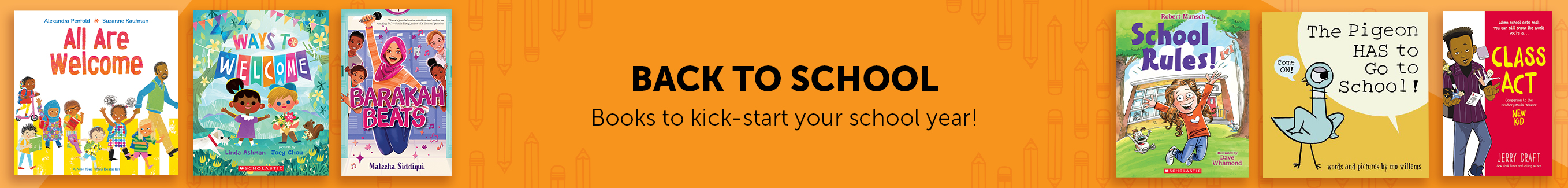 Back to School. Books to kick-start your school year!