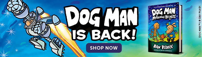 Dog Man is back! Shop Now.