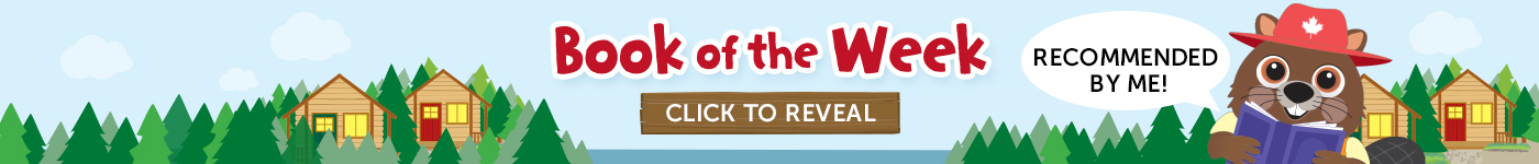 Book of the Week. Click to Reveal. Recommended by me, Benny the Beaver