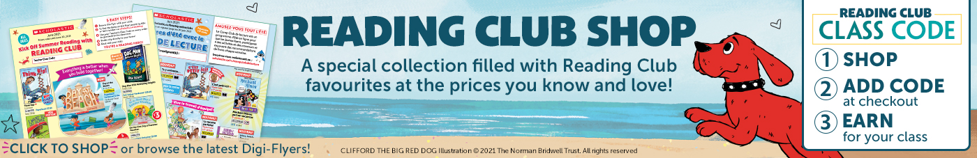 Reading Club Shop. A special collection filled with Reading Club favourites at the prices you know and love! Click to shop or browse the latest digi-flyers! *Use your child's teacher's Class Code on every order to give back to the classroom. Ask your child's teacher for their Class Code.