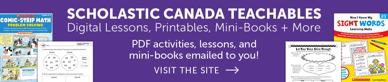 Scholastic Canada Teachables