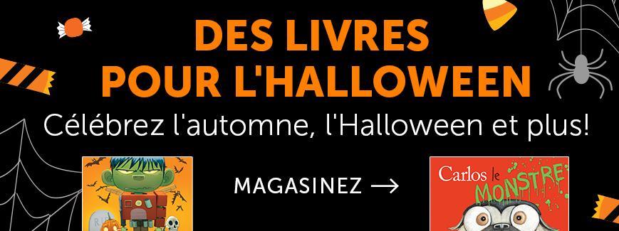 Des livres pour l'Halloween. Célébrez l'automne, l'Halloween et plus!