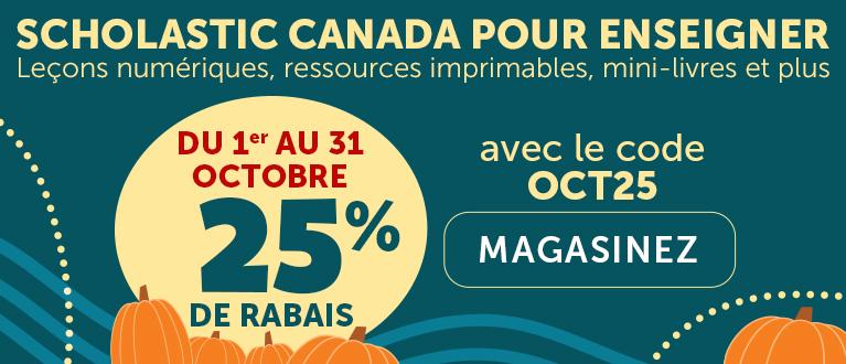 Scholastic Canada pour enseigner