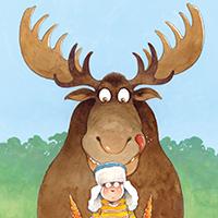 (PDF) July, Week 2 (Monday) Munschmania - Moose! - Colouring Sheet