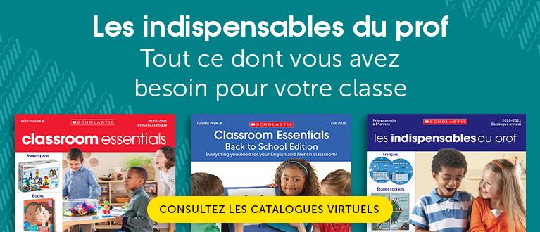 Les indispensables du prof. Tout ce dont vous avez besoin pour votre classe.