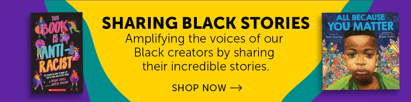Sharing Black Stories. Amplifying the voices of our Black creators by sharing their incredible stories.