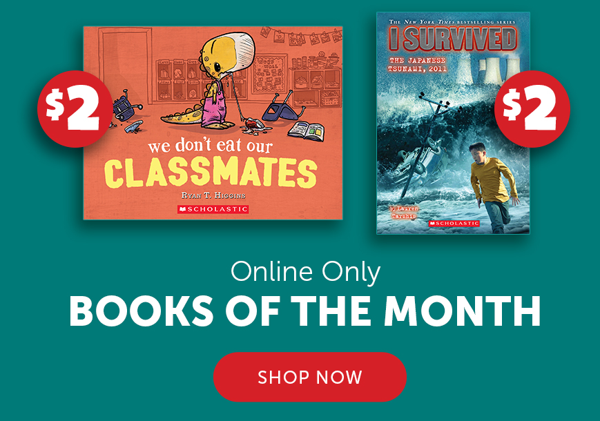 Online Only Books of the Month