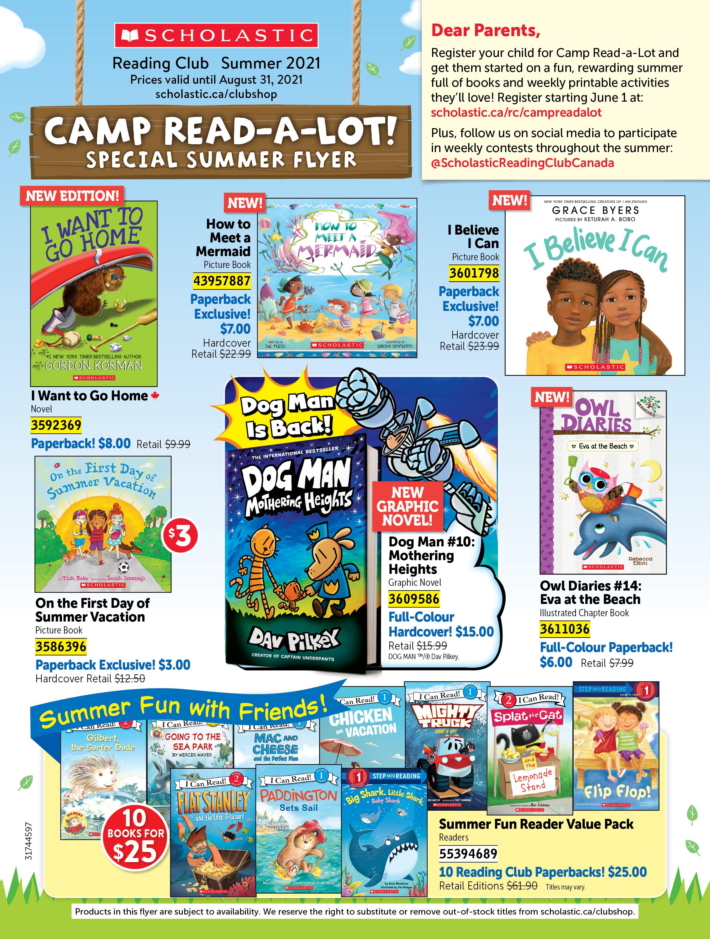 (PDF) Scholastic Summer Digi-flyer