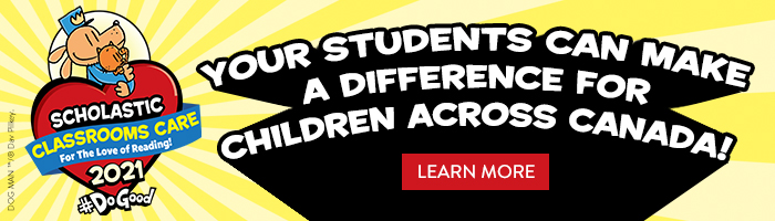 Classrooms Care 2021. Your students can make a difference for children across Canada. Learn More.