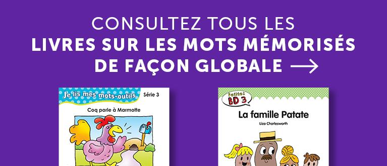 Consultez tous les livres sur les mots mémorisés de façon globale