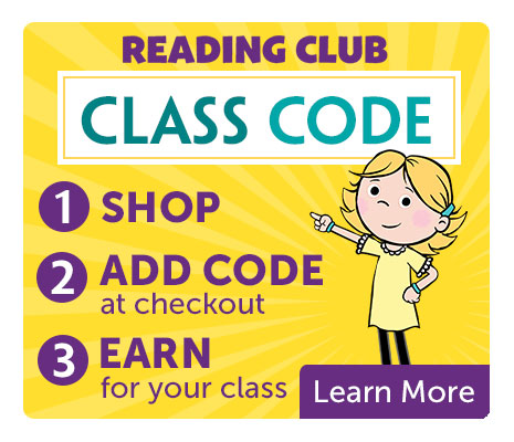 Reading Club Class Code. Shop. Add the Code at Checkout. Earn for your class. Learn More