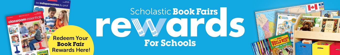 Scholastic Book Fairs Rewards for Schools. Redeem your Book Fairs Rewards here.