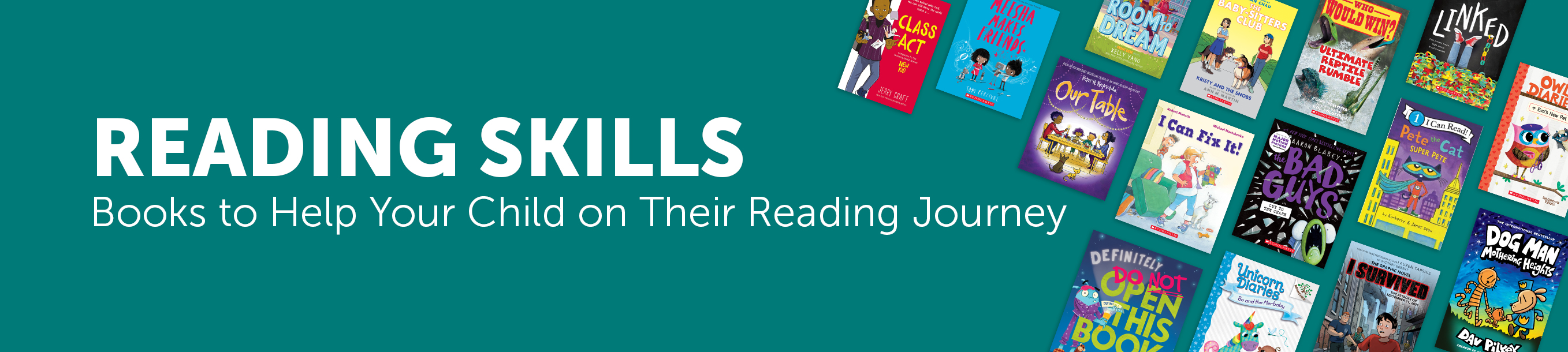 Reading Skills - Books to Help your Child on Their Reading Journey